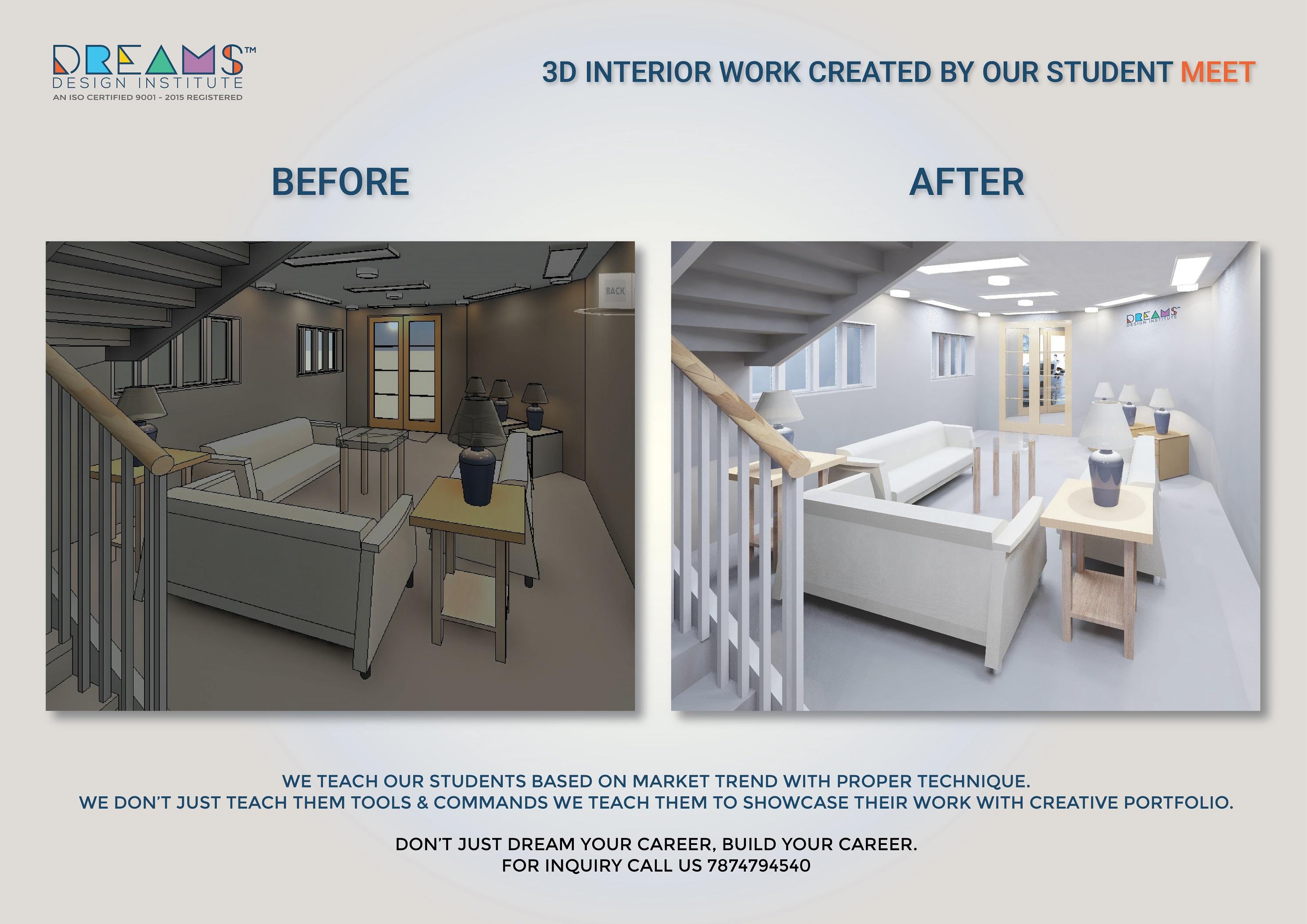 Student work – Dreams Design Institute